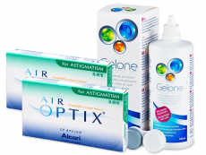 Air Optix for Astigmatism (2x3 lenzen) + Gelone 360 ml