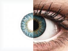 Blauwe contactlenzen - met sterkte - Air Optix Colors (2kleurlenzen)