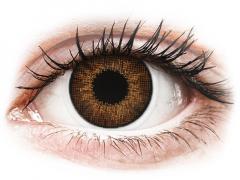 Bruine contactlenzen - met sterkte - Air Optix Colors (2kleurlenzen)