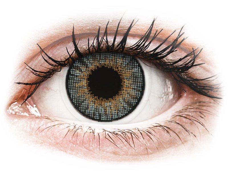 Grijze contactlenzen - met sterkte - Air Optix Colors (2kleurlenzen)