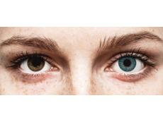 Blauwe contactlenzen - TopVue Color (10gekleurde daglenzen)