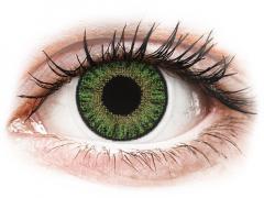 Groene contactlenzen - met sterkte - TopVue Color (10 gekleurde daglenzen)