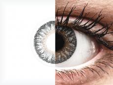 Grijze contactlenzen - met sterkte - TopVue Color (2kleurlenzen)