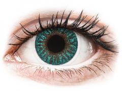 TopVue Color - Turquoise - met sterkte (2 kleurlenzen)