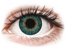 FreshLook ColorBlends Turquoise - met sterkte (2lenzen)