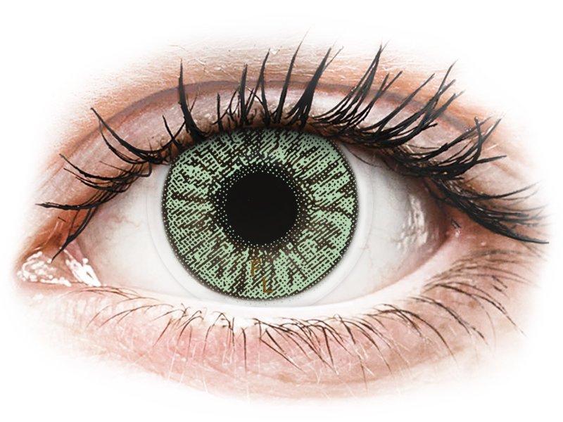 FreshLook Colors Green - met sterkte (2lenzen)