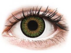 FreshLook One Day Color Green - met sterkte (10lenzen)