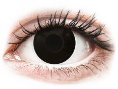 ColourVUE Crazy Lens - Blackout - zonder sterkte (2 gekleurde daglenzen)