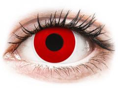 ColourVUE Crazy Lens - Red Devil - zonder sterkte (2 gekleurde daglenzen)