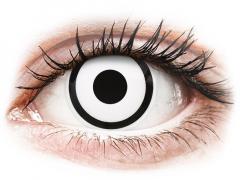 ColourVUE Crazy Lens - White Zombie - zonder sterkte (2 gekleurde daglenzen)