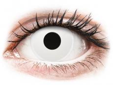 ColourVUE Crazy Lens - Whiteout - zonder sterkte (2 gekleurde daglenzen)