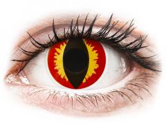 ColourVUE Crazy Lens - Dragon Eyes - zonder sterkte (2 gekleurde daglenzen)