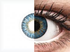 Air Optix Colors - True Sapphire - met sterkte (2lenzen)