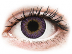 Air Optix Colors - Amethyst - met sterkte (2 lenzen)