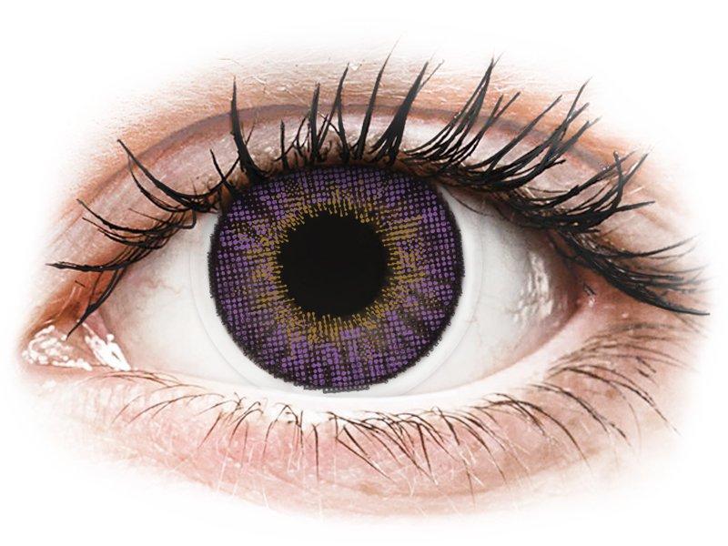 Air Optix Colors - Amethyst - met sterkte (2lenzen)