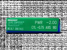 Air Optix plus HydraGlyde for Astigmatism (6lenzen)