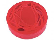 Lenzenhouder kit met spiegel - rood versierd
