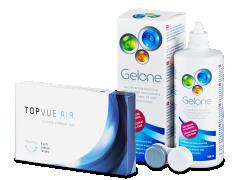 TopVue Air (6 lenzen) + Gelone 360 ml