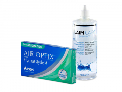 Air Optix plus HydraGlyde for Astigmatism (6 lenzen) + Laim-Care 400 ml