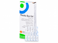 Thealoz Duo Gel oogdruppels 30 x 0,4g
