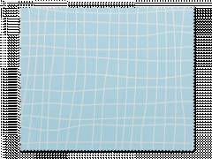 Schoonmaakdoekje voor brillen - lichtblauw raster