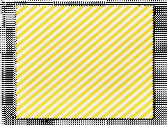 Schoonmaakdoekje voor brillen - gele en witte strepen