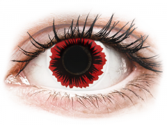 ColourVUE Crazy Lens - Blaze - zonder sterke (2 kleurlenzen)