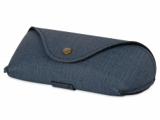 Blauwe brillendoos SH224-1