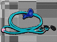 Brillenkoordje in blauw – dolfijn