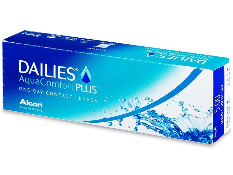 Dailies Aquacomfort Plus (30 lenzen)