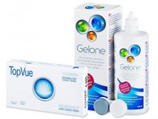 TopVue Monthly (6lenzen) + Gelone 360 ml