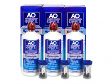AO SEPT PLUS HydraGlyde 3x360 ml